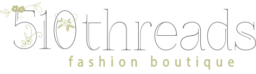 510 Threads Fashion Boutique Mobile Retina Logo