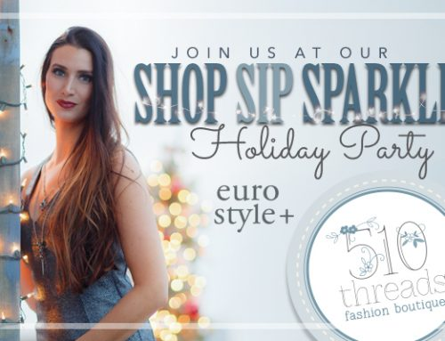 Shop Sip & Sparkle Holiday Party – November 30th
